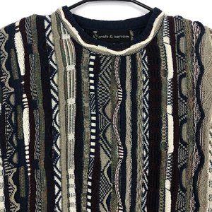 Croft & Borrow Vtg Mens Med Coogi Biggie Sweater